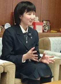 早田ひな制服
