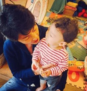 斉藤和己と息子