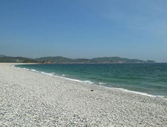 まんぷくオープニングロケ地吹上浜