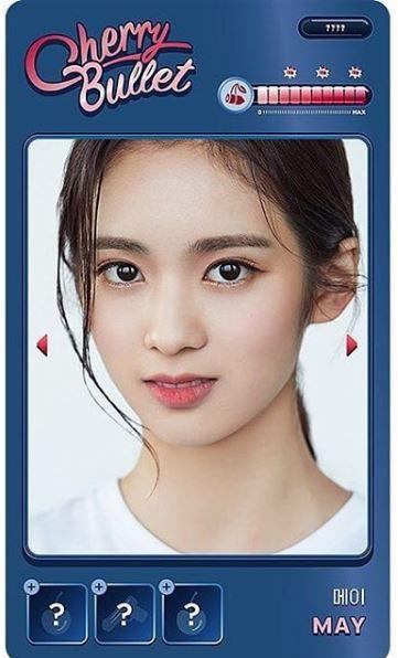 CherryBullet日本人メンバーMAY中学生