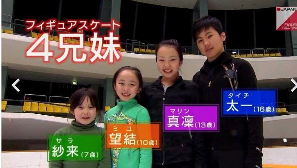本田真凛4兄妹