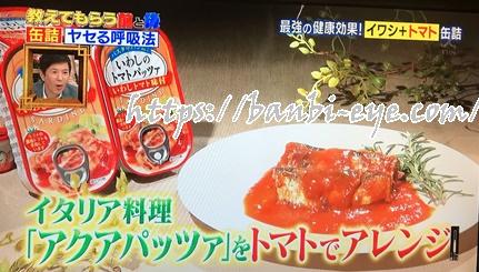 イワシのトマトパッツァ